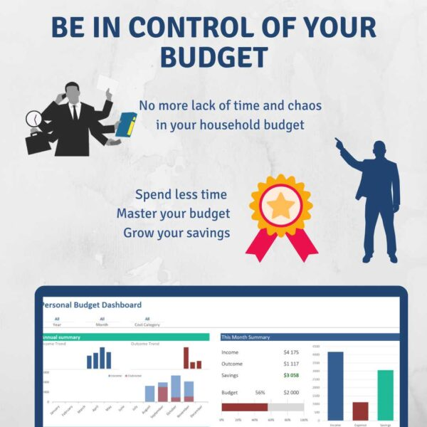 Be in control budget master household