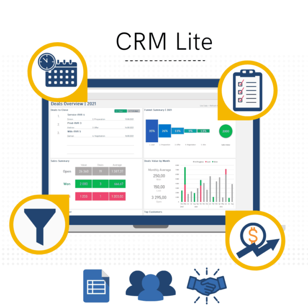 Excel CRM Lite Cover