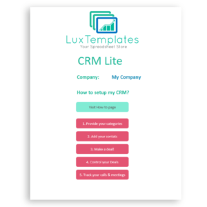 Info sample excel crm template