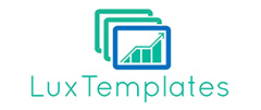 Lux Templates logo excel tepmlate