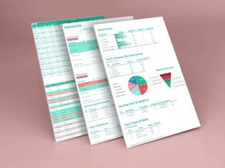 Cover Customer CRM Template