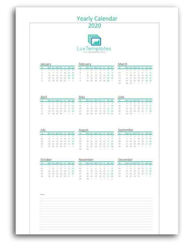 Printable Calendar Weekly Monthly