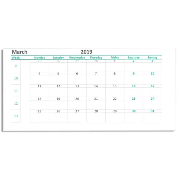 Monthly Calendar Printable