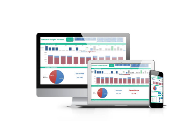 Excel Dashboards Multi Device Templates