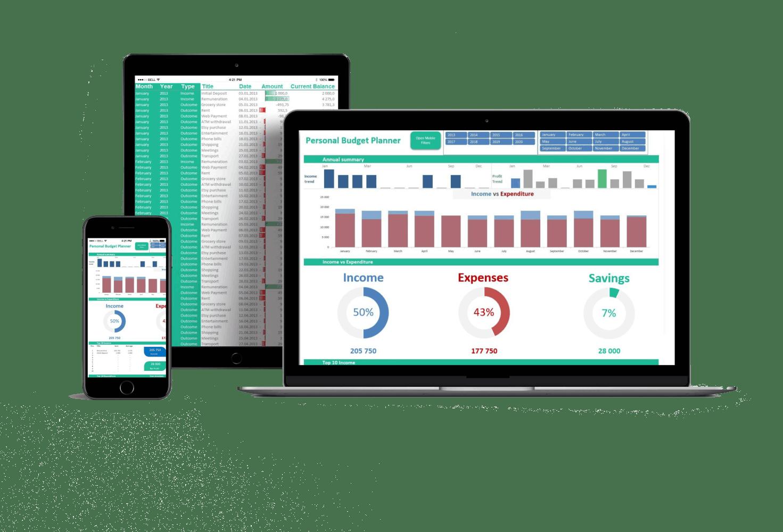 Dashboard Excel Spreadsheet