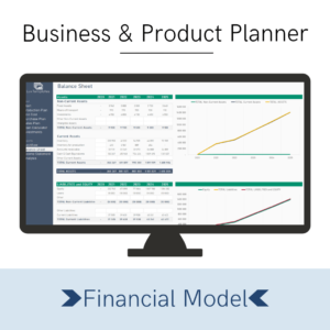 Business Planner Financial Model Cover