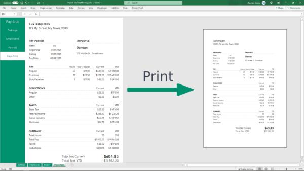 Easy Print Payroll